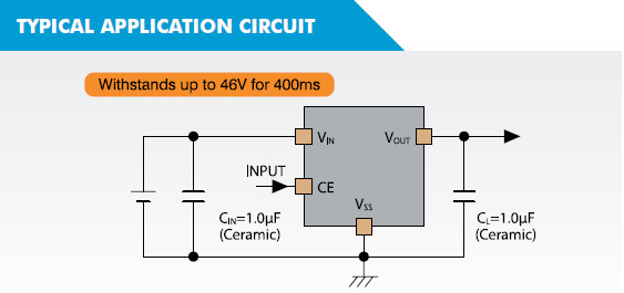 XC6702 Typical Application Circuit