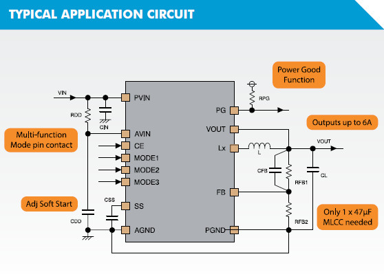XC9266 Typical Application Circuit