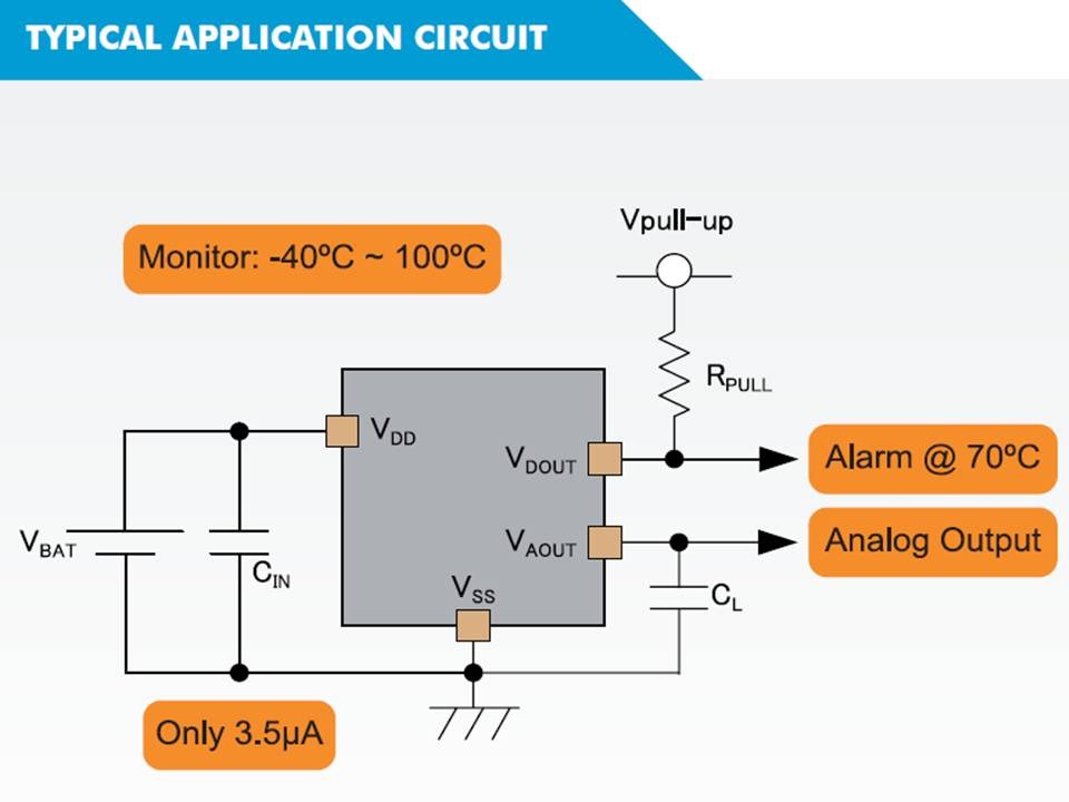 XC3101 Typical Application Circuit