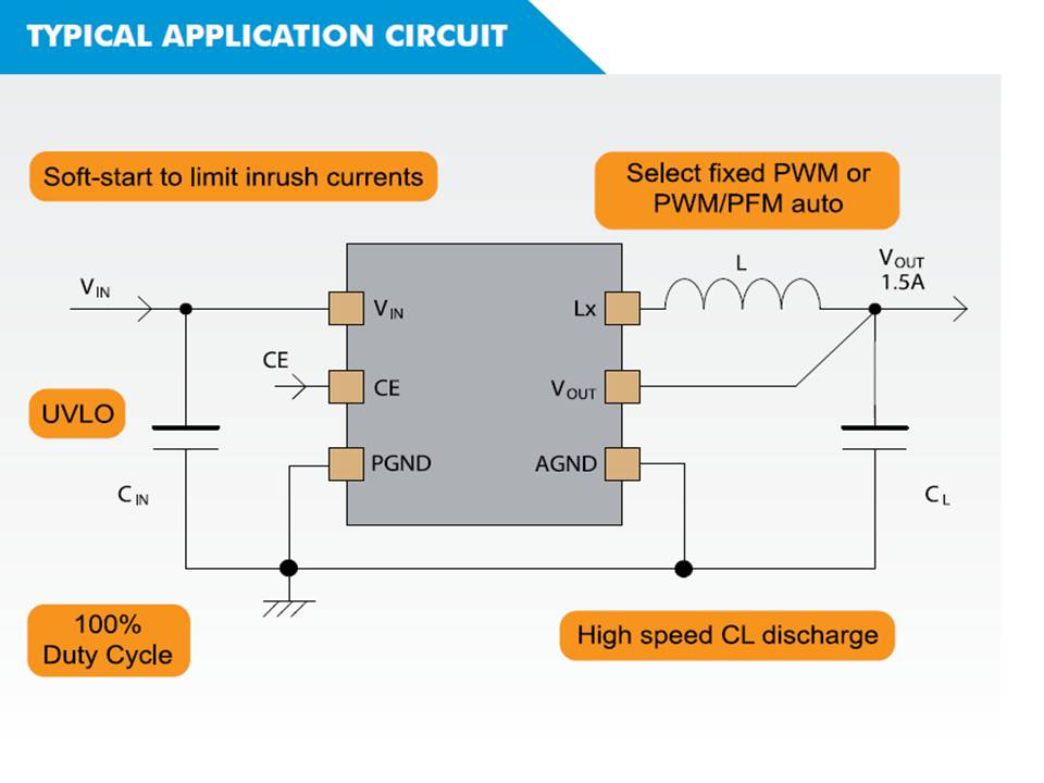 XC9261 Typical Application Circuit