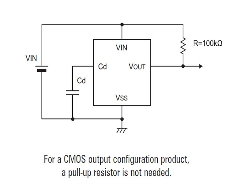 XC6109 Typical Application Circuit