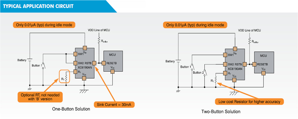 XC6190 Typical Application Circuit