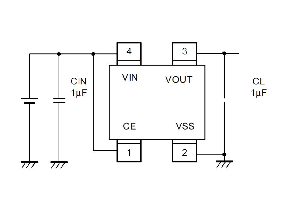 XC6213 Typical Application Circuit