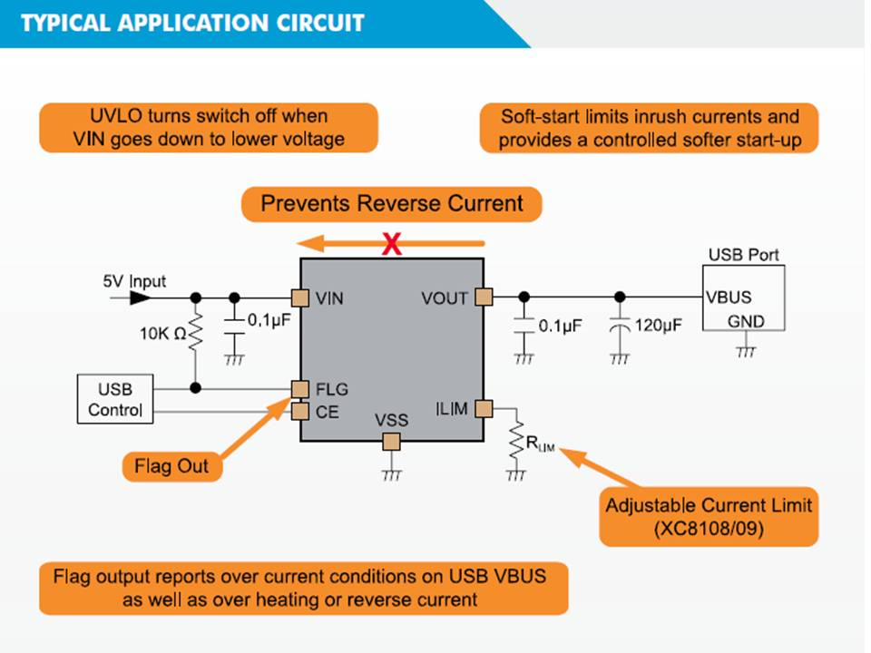 XC8109 Typical Application Circuit