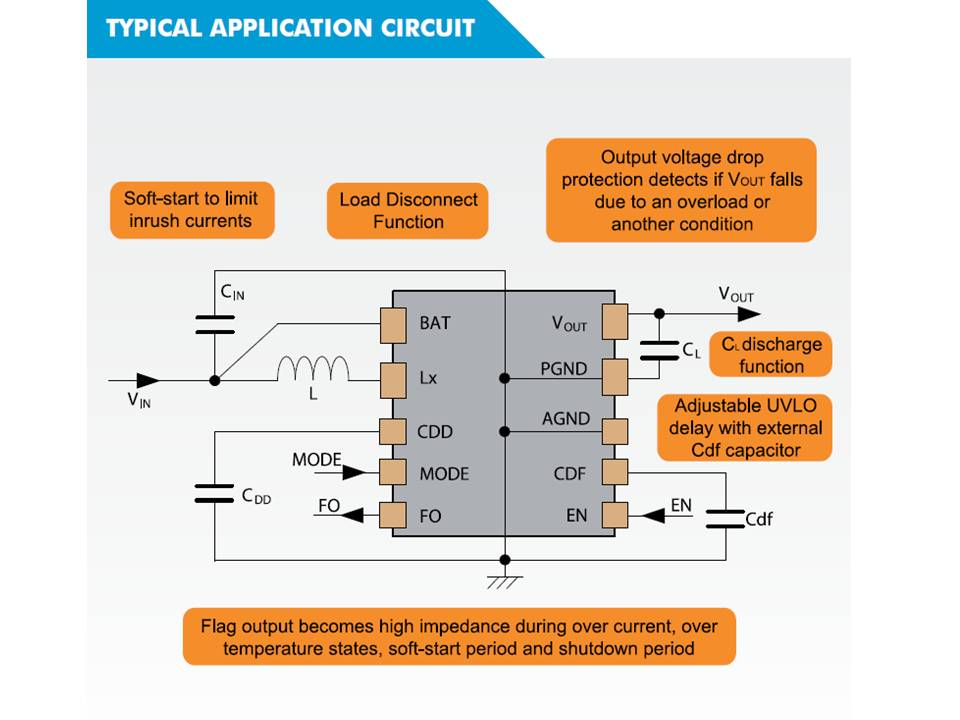 XC9136 Typical Application Circuit
