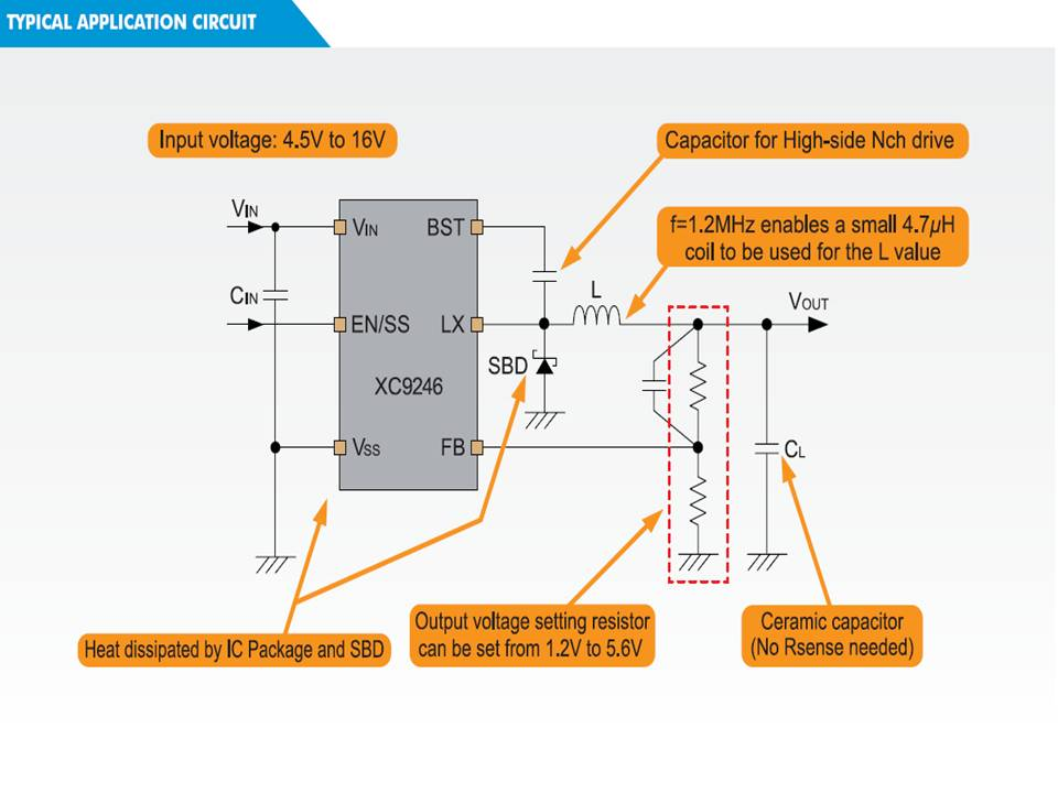 XC9246 Typical Application Circuit