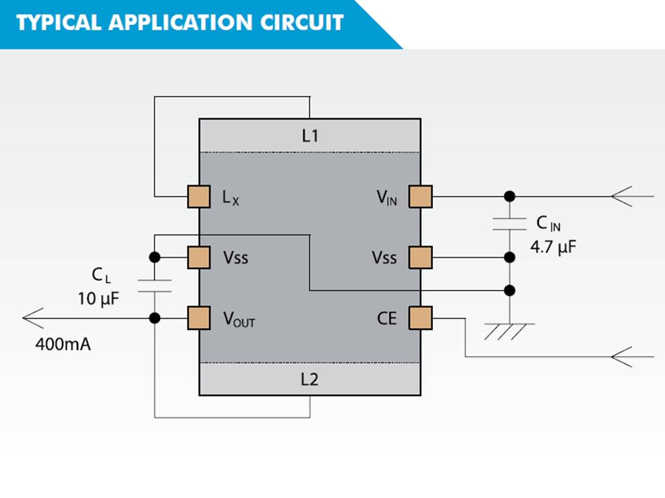 XCL201 Typical Application Circuit