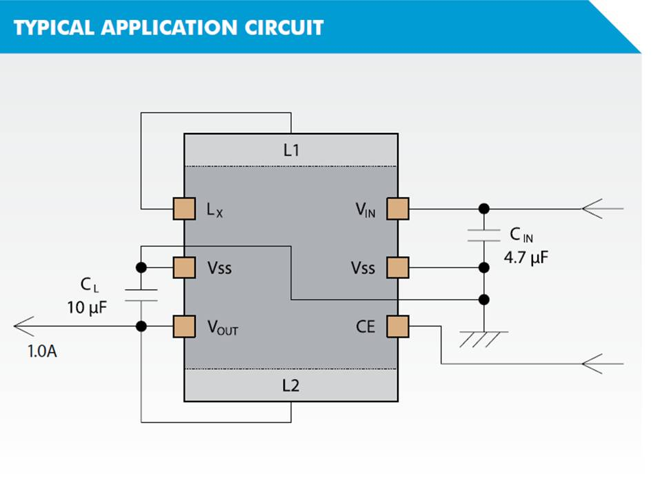 XCL219 Typical Application Circuit