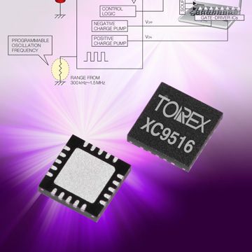 Triple Output Power Supply DC/DC Converter for TFT-LCD image