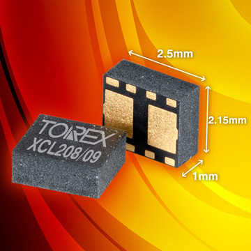400mA, 3MHz Synch Step-Down Micro DC/DC with Integrated Inductor image