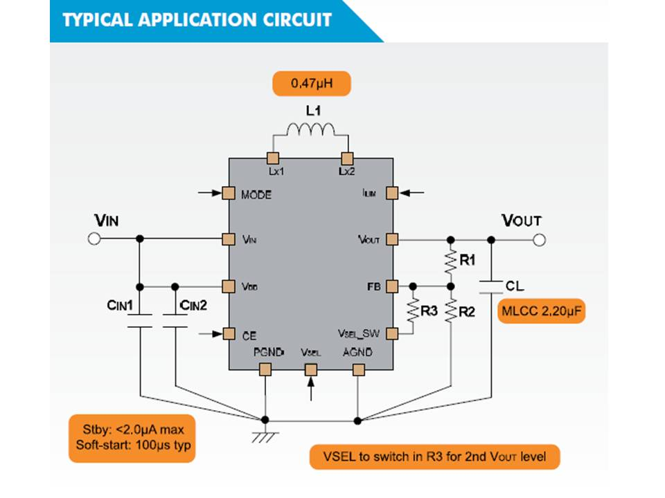 XC9306 Typical Application Circuit